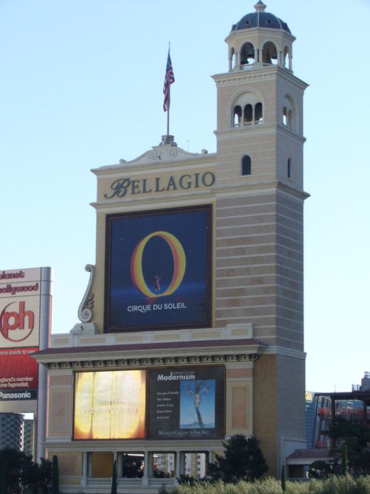 L'insegna Hotel Bellagio