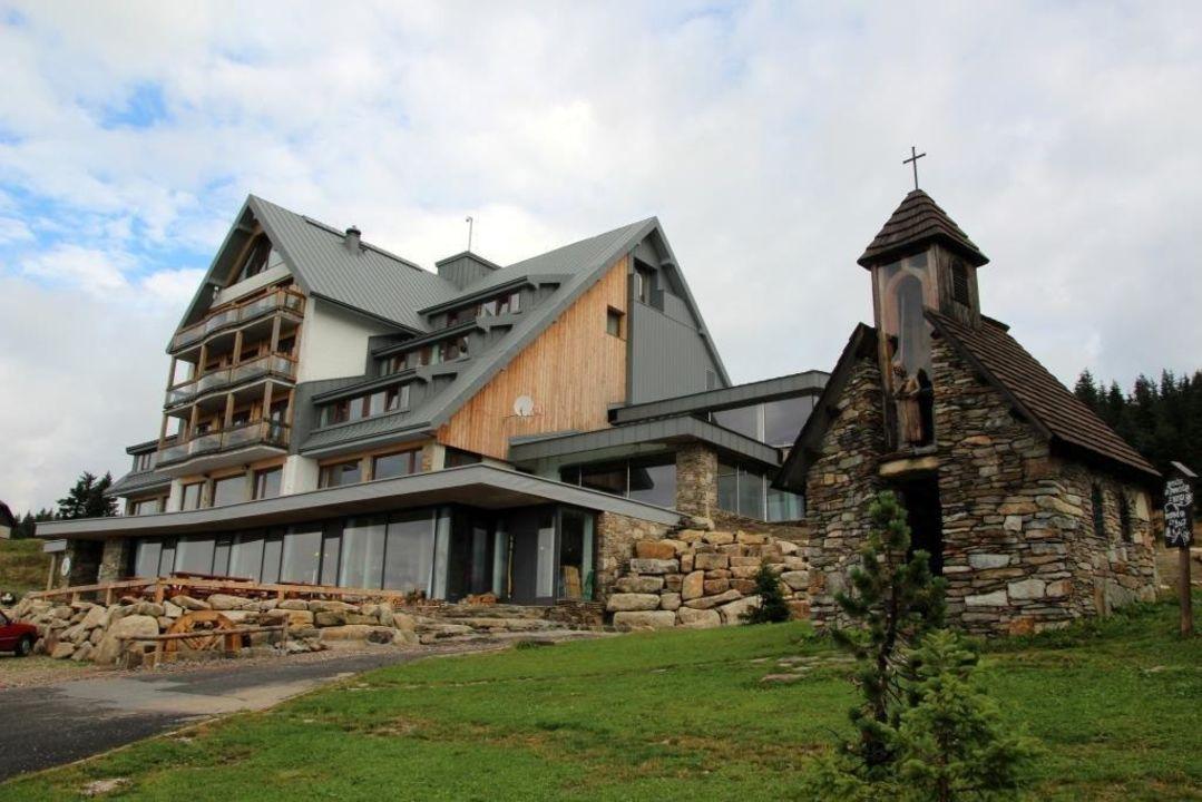 Hotel mit der kleinen Kapelle Resort Sv. František - Erlebachova Bouda