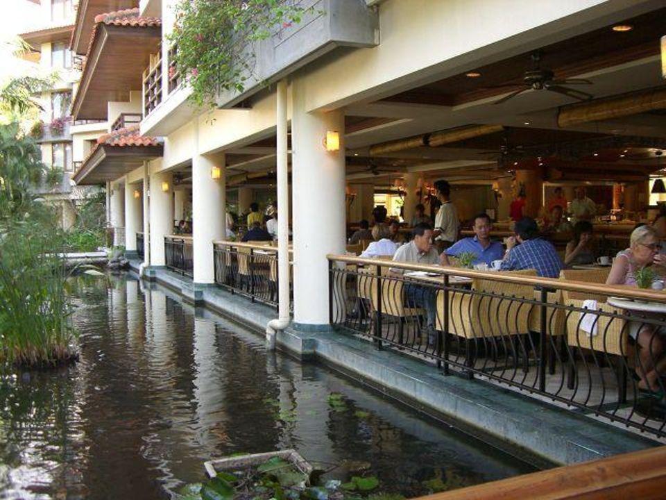 """Frühstücksraum """"The Westin"""" Außenansicht The Westin Resort Nusa Dua, Bali"""