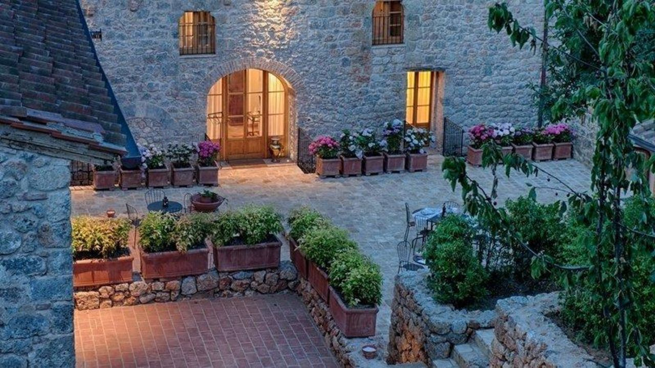 Entrata sala ristorante Relais La Costa Dimora Storica - Adults only