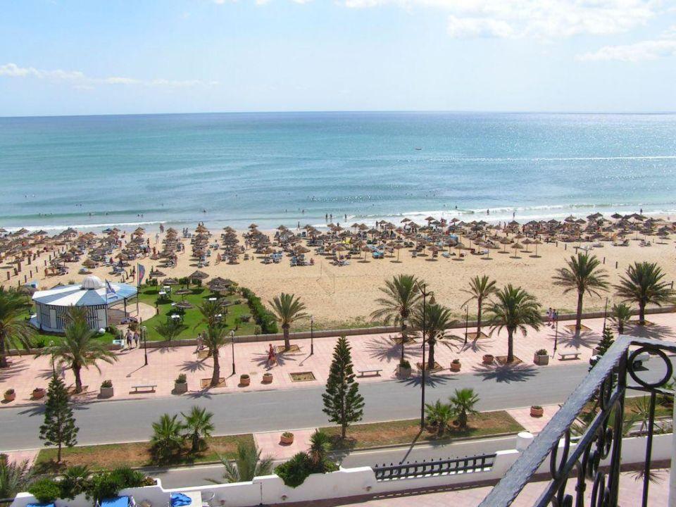 Der Blick aus dem Hotel Hotel Yasmine Beach Resort