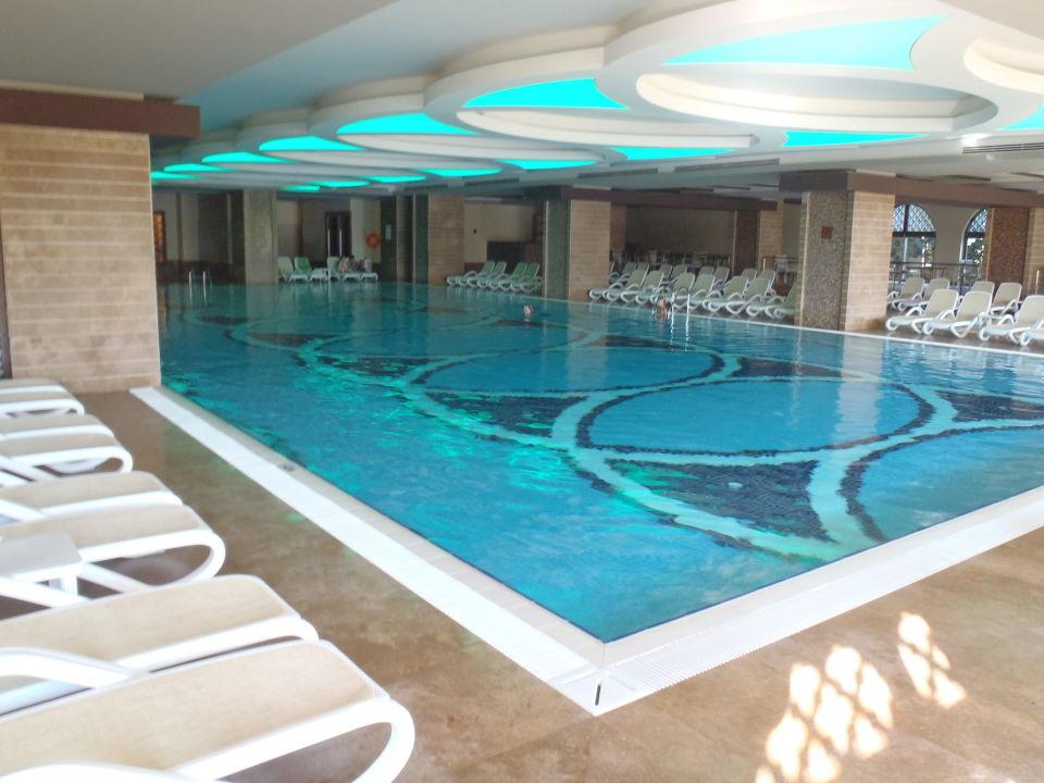 Indoor pool.\