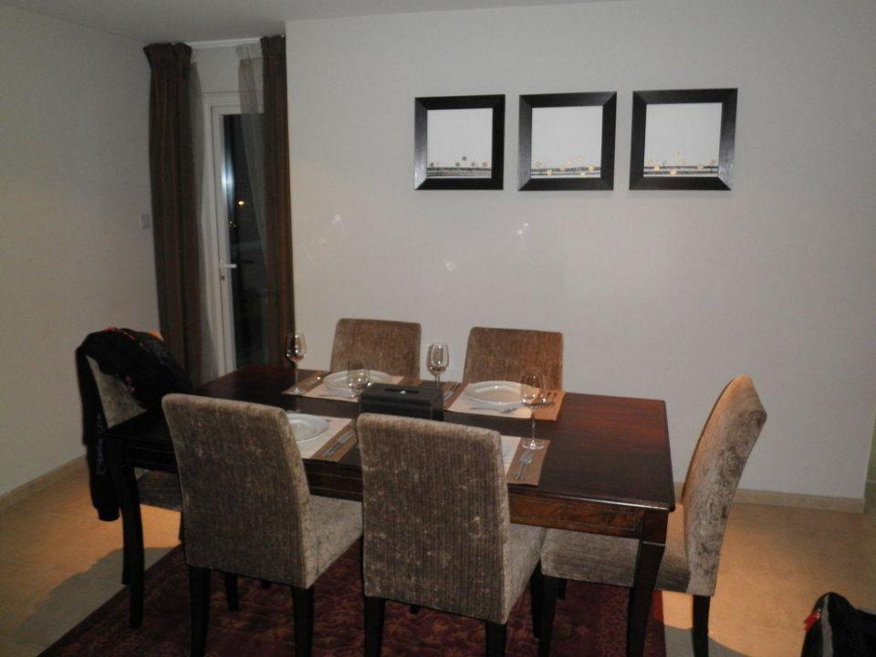 Essbereich Hotel Dusit Residence Dubai Marina
