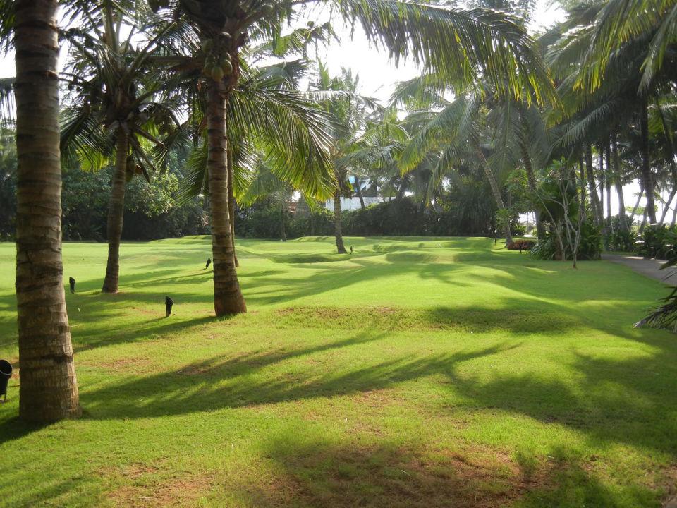 Der Weg zum Beachrestaurant (Hotelanlage) Hotel Vivanta by Taj Kovalam