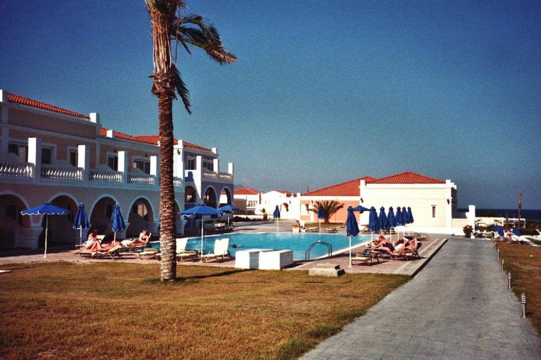 Pool ganz unten rechts, ruhig, Zimmer Nr. um 700 Atlantica Porto Bello Royal Hotel