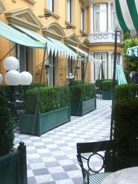 Restaurantterrasse Hotel Majestic