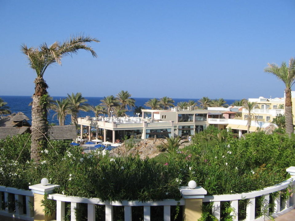 Ausblick Radisson Blu Beach Resort