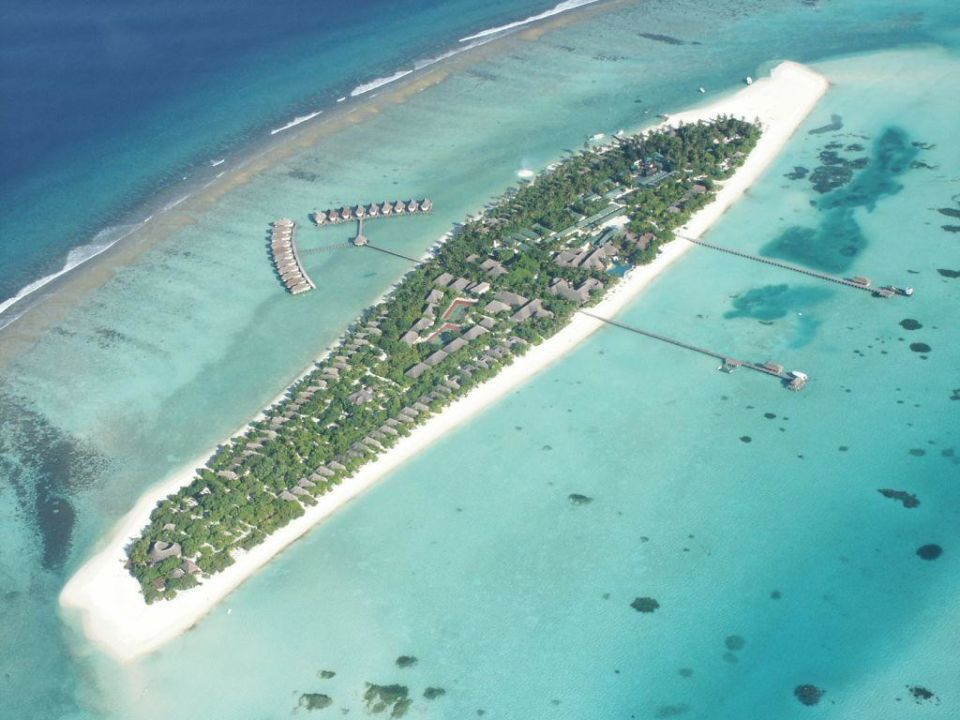 Kanuhura aus der Luft Kanuhura Maldives