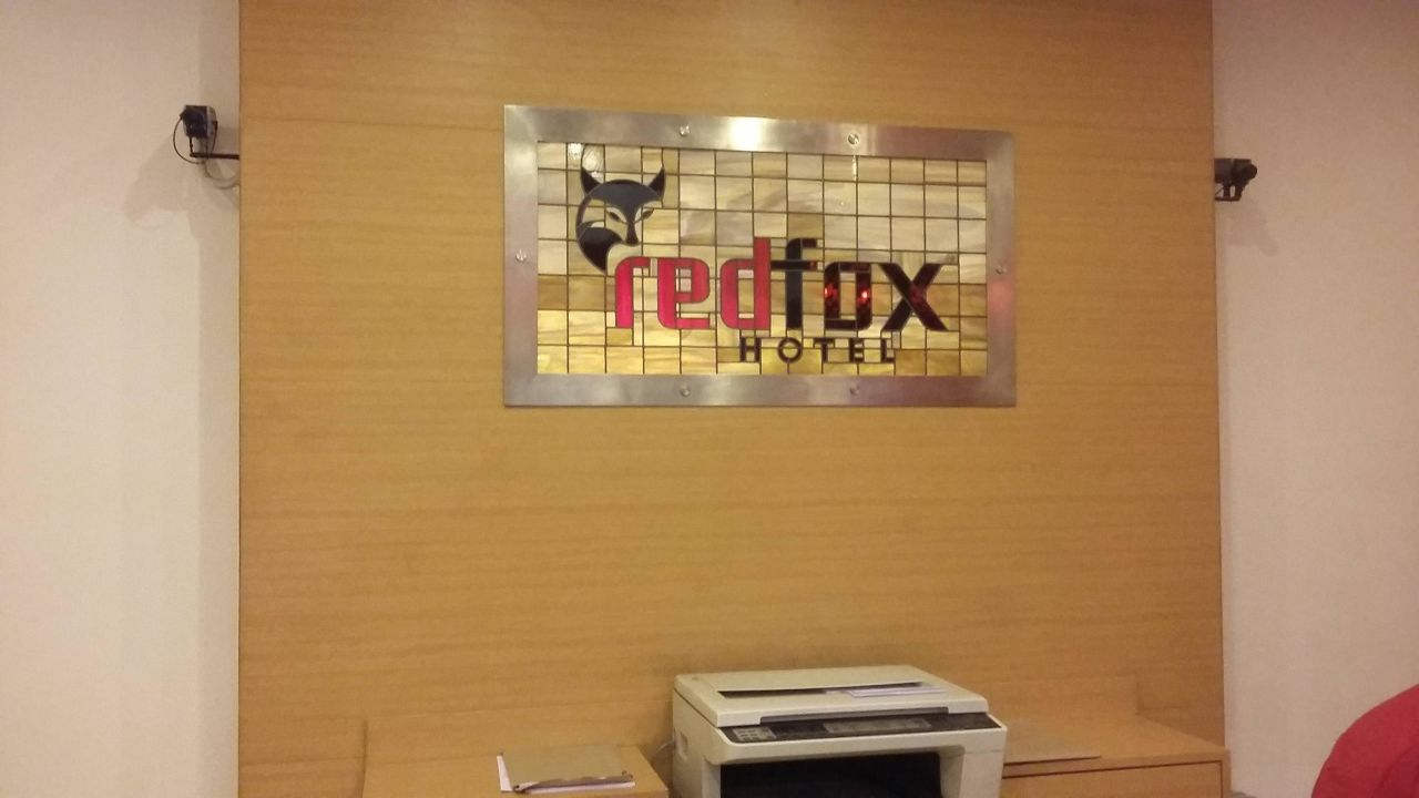 Recepcja Red Fox Hotel Delhi Airport