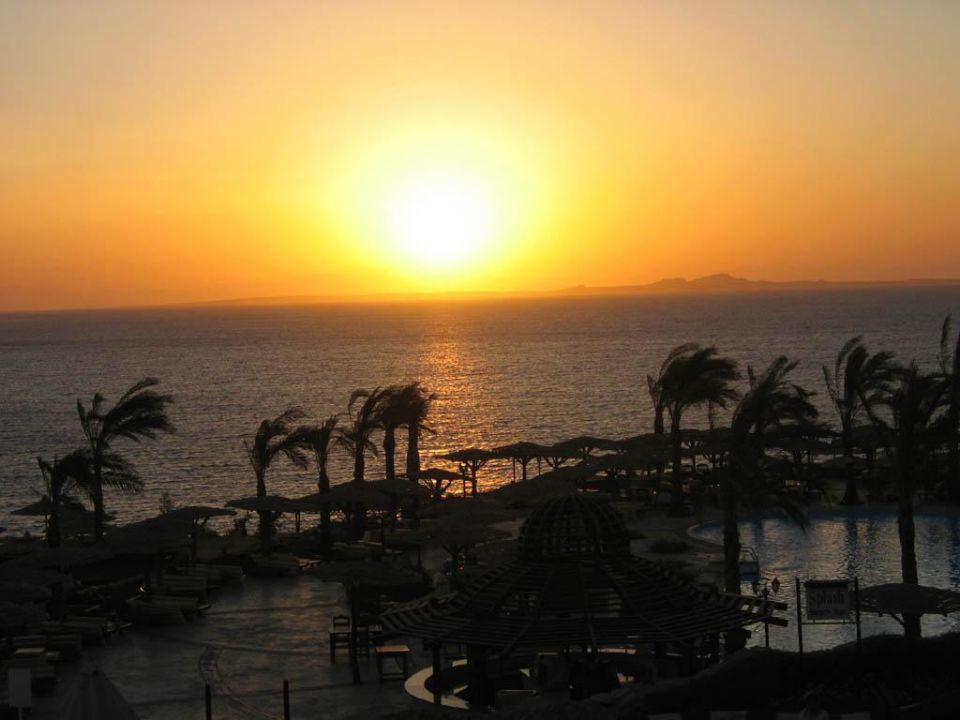 Sonnenaufgang über Tiran Sharm El Sheikh Tiran Coral Beach Resort
