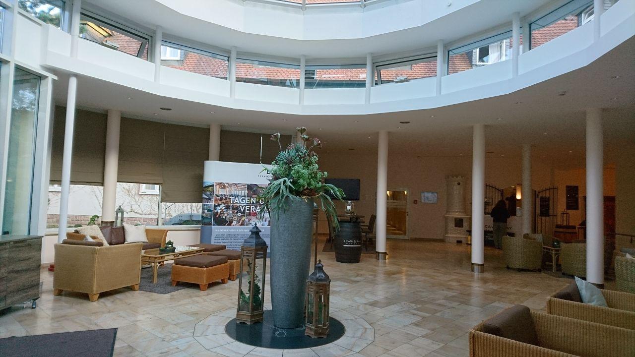 Lobby Lindner Hotel & Spa Binshof