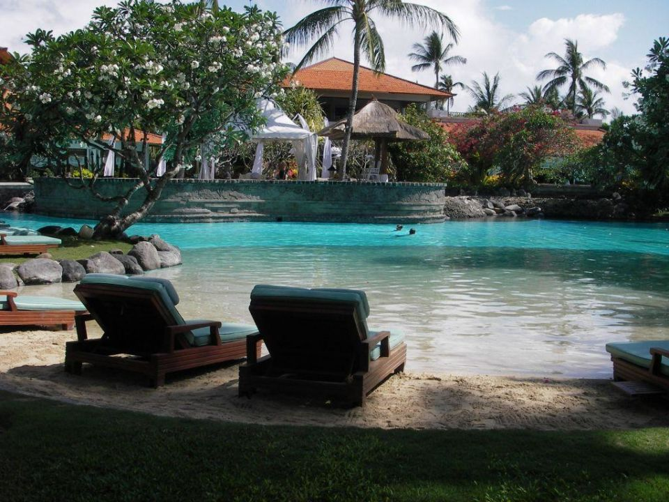 Pool mit Sandstrand The Laguna A Luxury Collection Resort & Spa