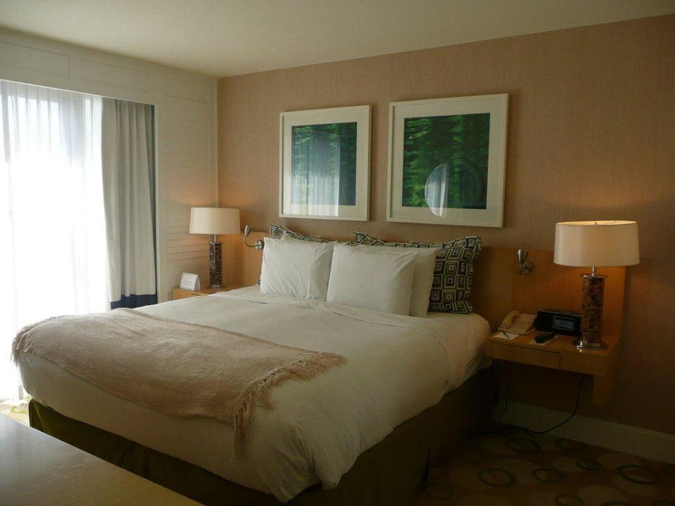 Das Schlafzimmer Hotel Edgewater Beach