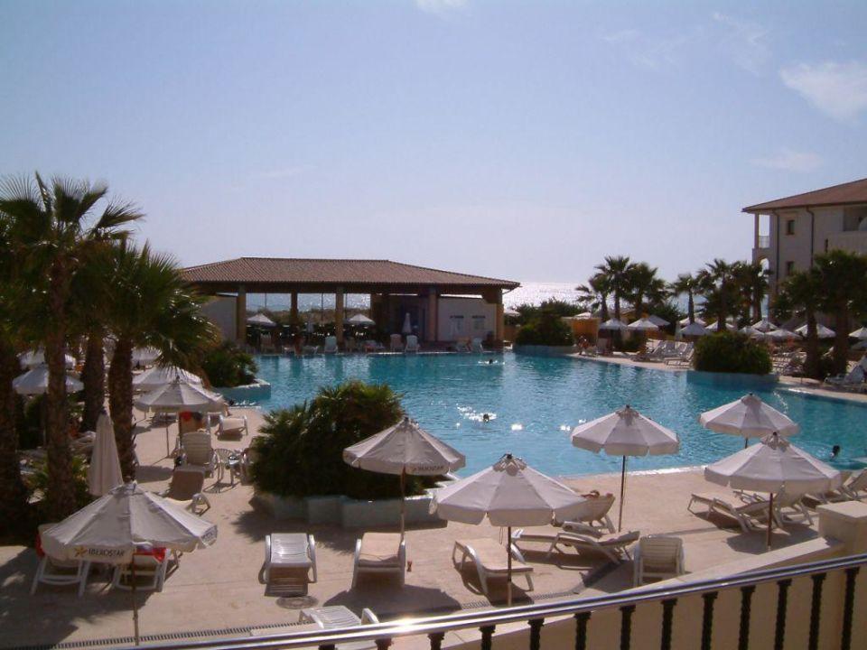 Blick auf den Pool IBEROSTAR Andalucia Playa