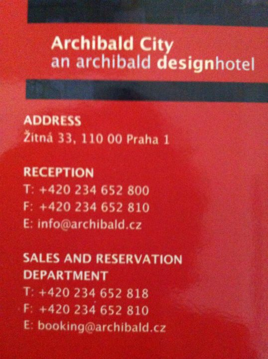 Sonstiges Hotel Archibald City