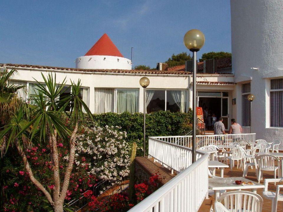Blick auf den Speisesaal Club Hotel Tropicana Mallorca