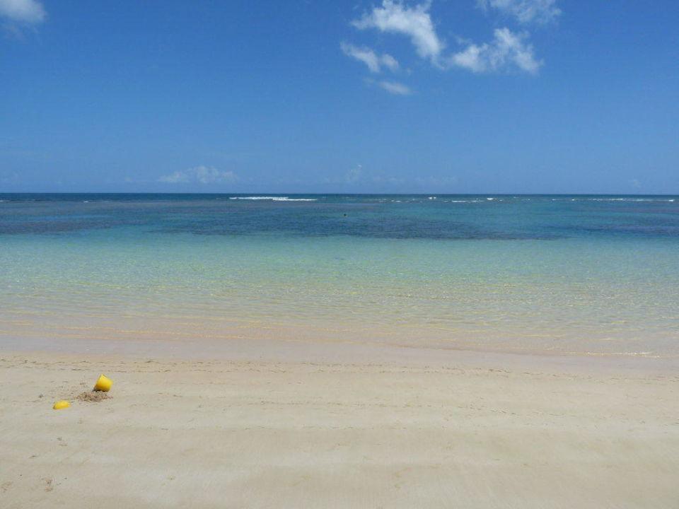 Blick von der Liege auf das Meer Grand Bahia Principe El Portillo