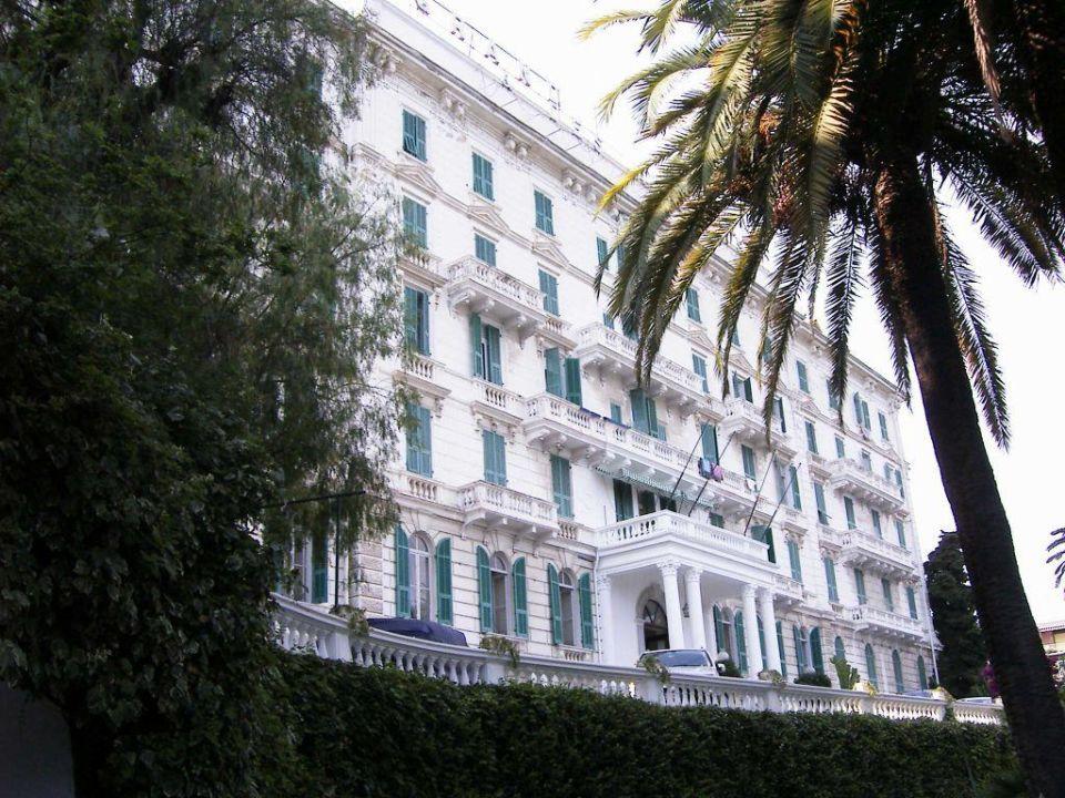 Vorderansicht Grand Hotel Des Anglais San Remo Holidaycheck