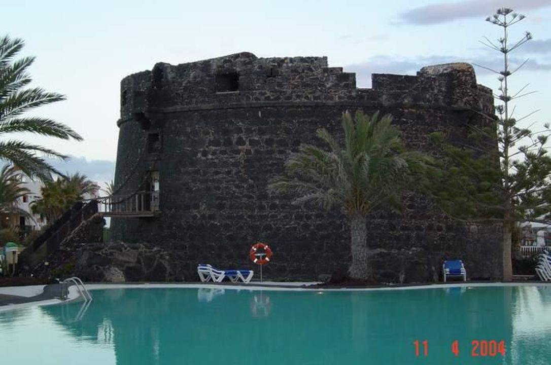 Das Wahrzeichen von Caleta de Fuste Hotel Barceló Castillo Beach Resort