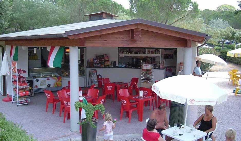 Bar del camping Camping Vallegaia