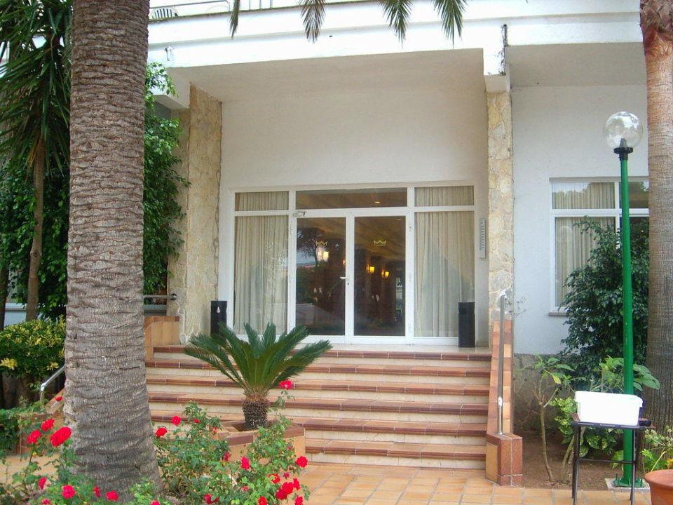 Eingang Hotel Riu Playa Park