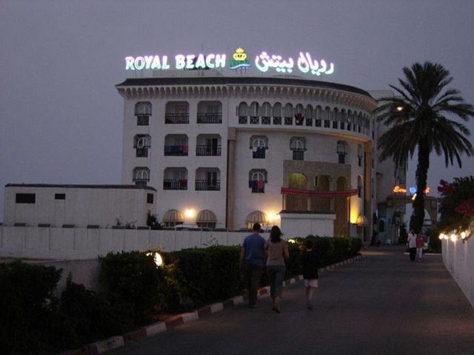 Hotel Royal Beach am Abend Hotel Royal Beach