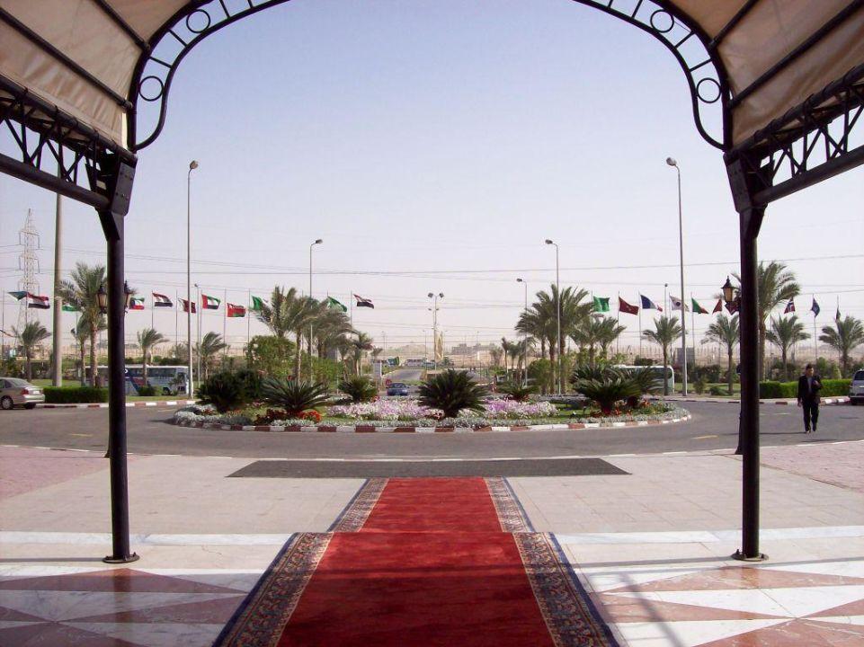 Auch dort gibt es einen Roten Teppich Mövenpick Hotel Cairo Media City