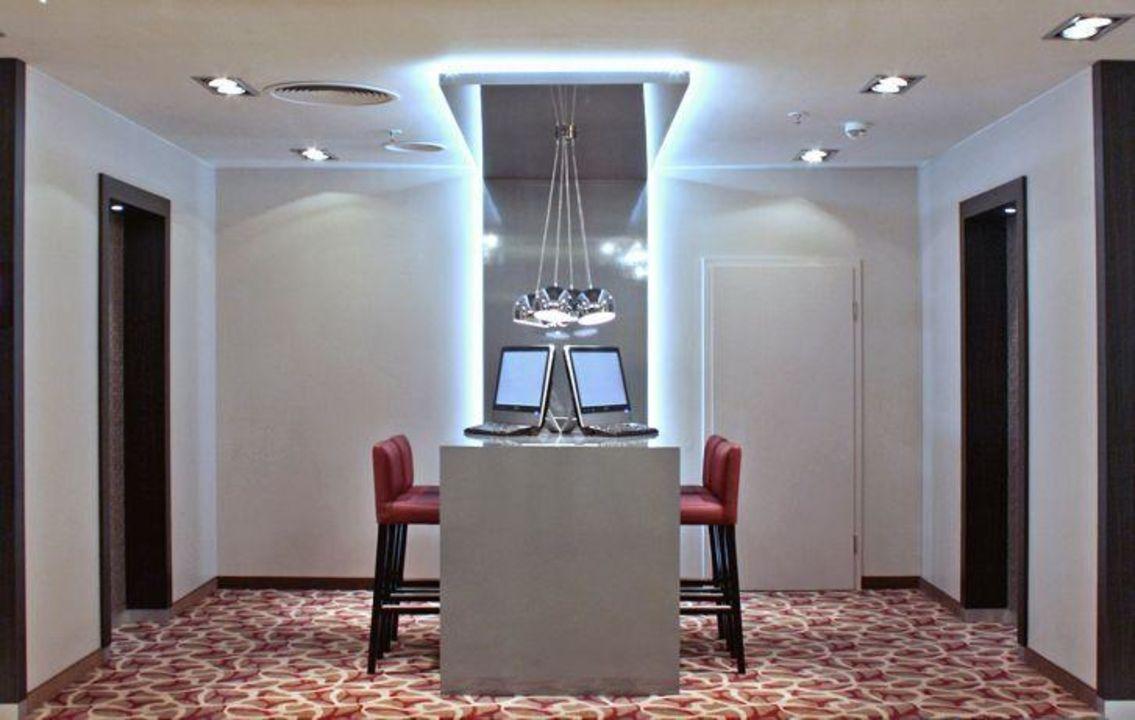 Hotelzimmer mit 100MBit Highspeed Internet Hotel Crowne Plaza Berlin City Centre