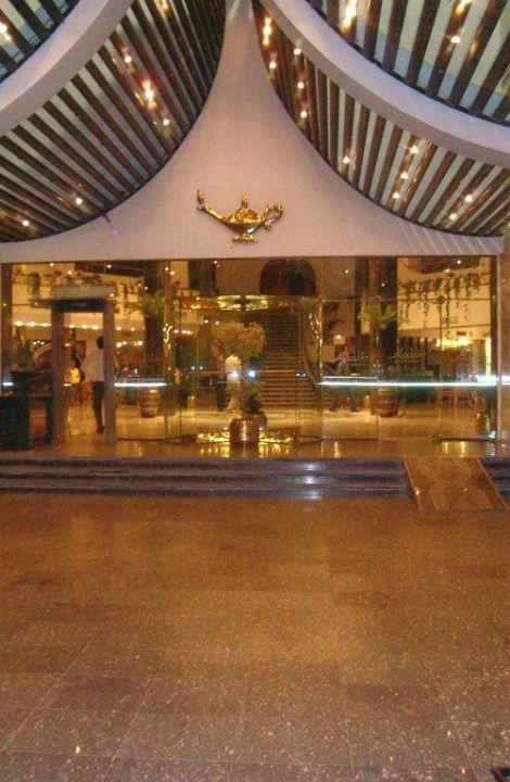 Enfach toll der Eingangsbereich Aladdin Beach Resort