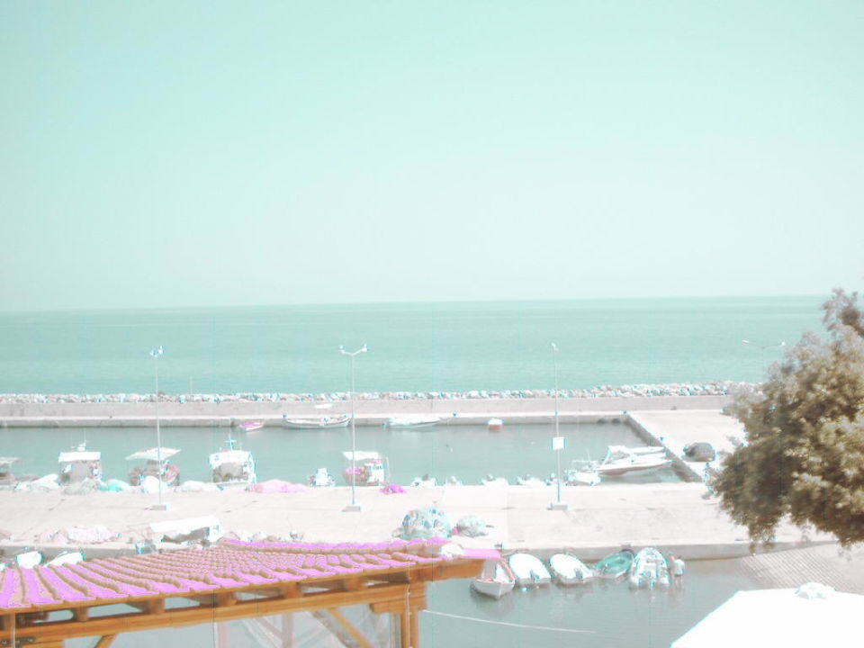 Widok z balkonu Hotel Vlassis