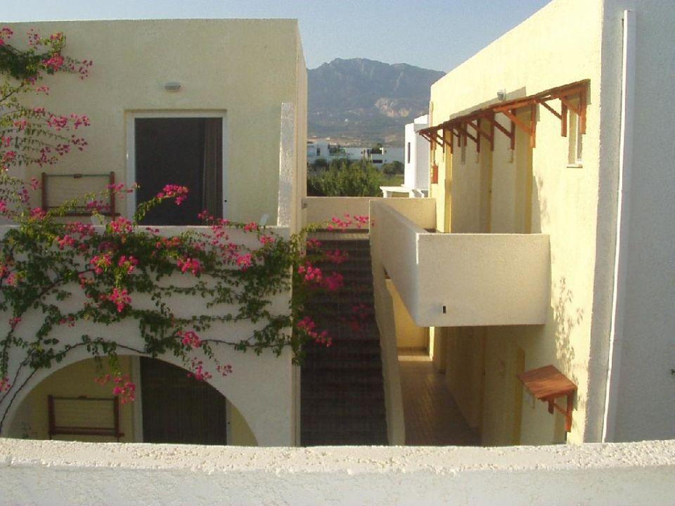 Blick vom Balkon 1 Hotel Gaia Village