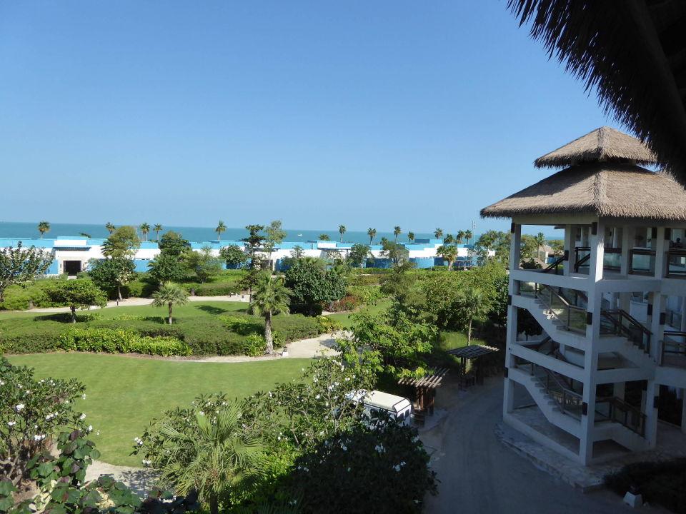 Blick Vom Eingang Der Zimmer Banana Island Resort Doha By Anantara