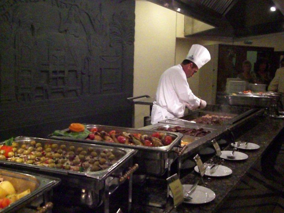 Abendbuffet,frisch zubereitete Speisen Hotel Side Star Elegance