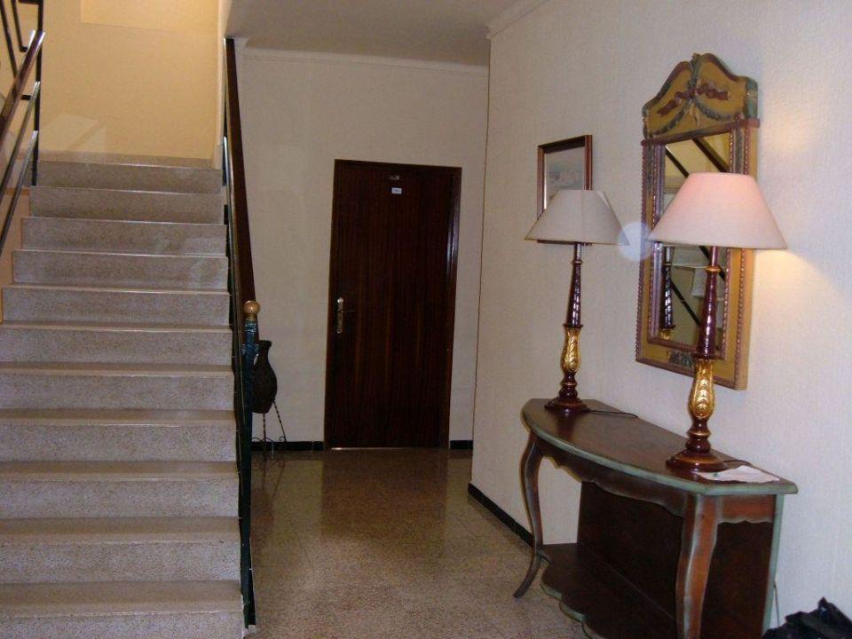 hall du premier étage Hotel Estrella