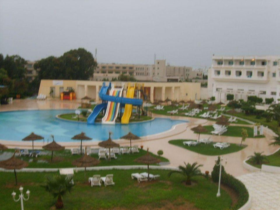 Widok z okna Hotel Aqua Life Yasmine