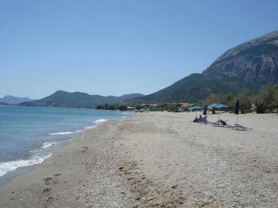 Strand in die andere Richtung Hotel Maria