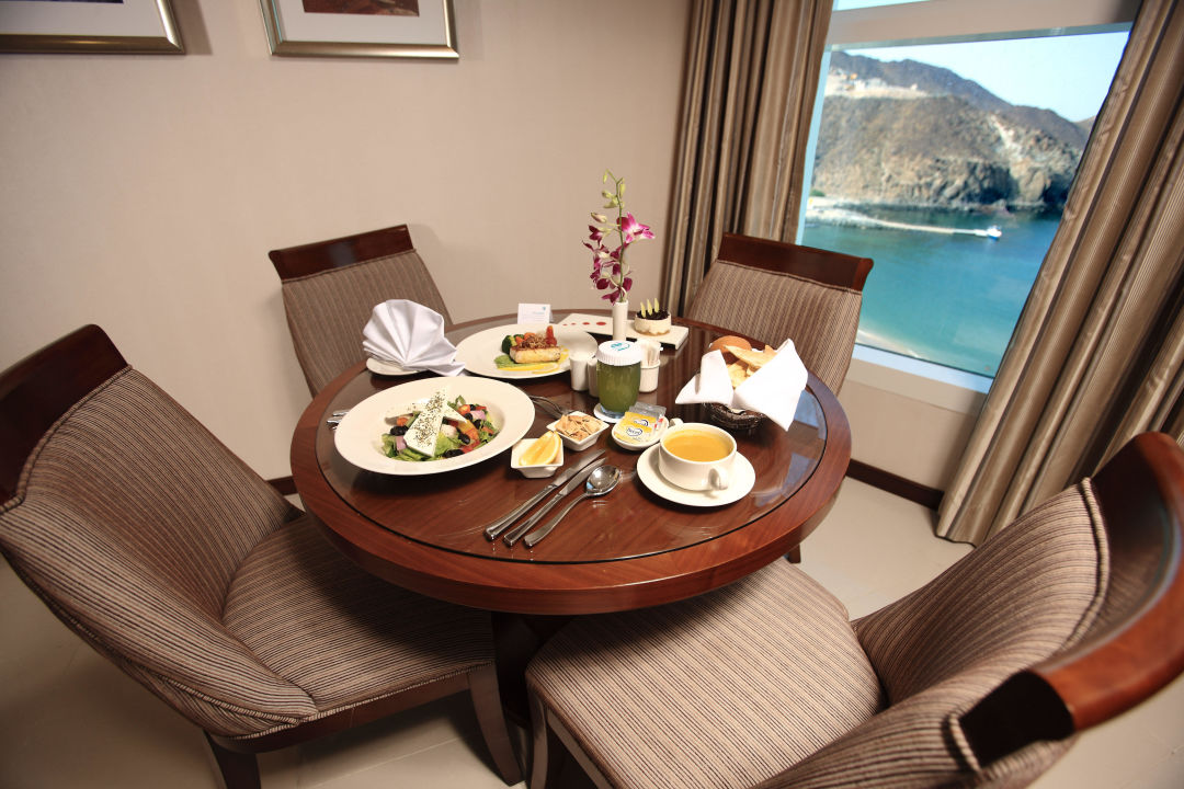 Panoramic Suite Oceanic Khorfakkan Resort & Spa