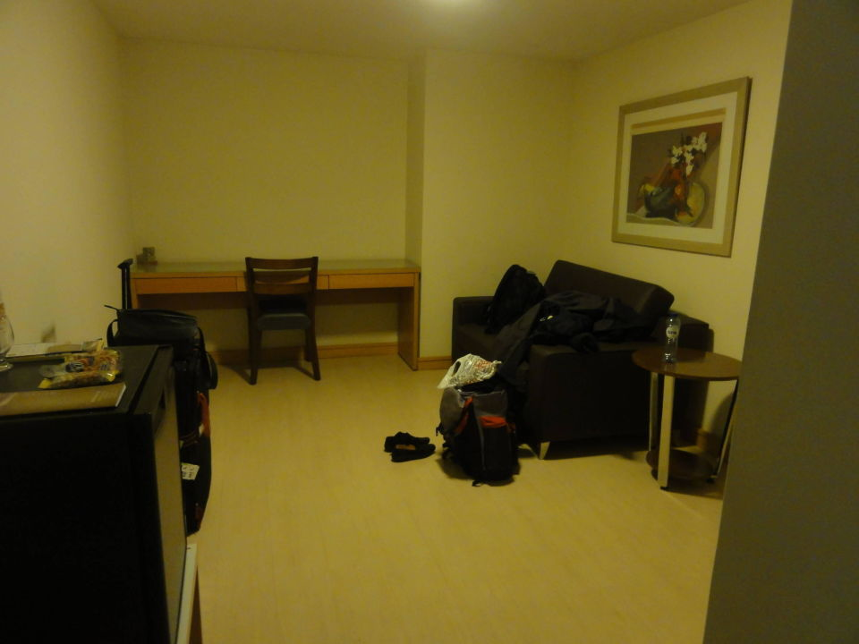 Das war die Suite, völlig lieblos eingerichtet. Augusto's Rio Copa Hotel