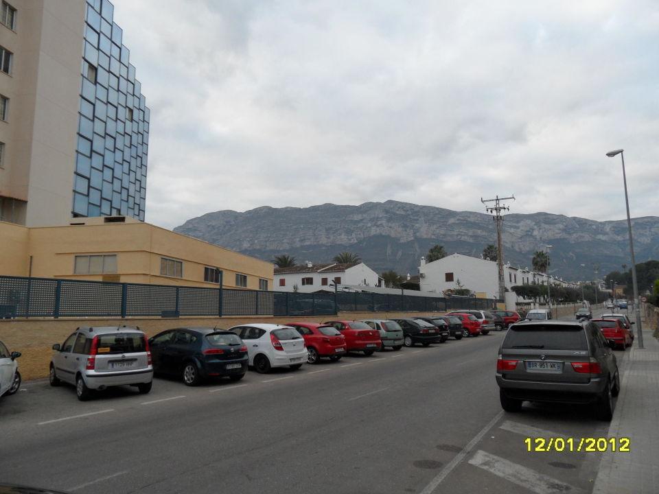 Frontansicht Hotel Port Denia