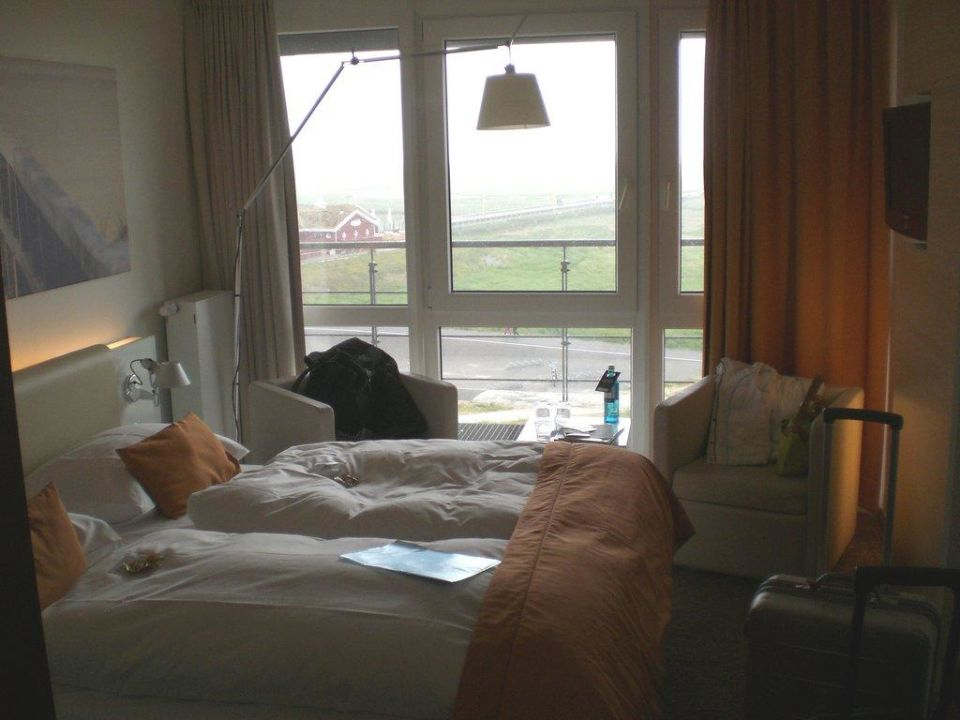 Standard-Doppelzimmer mit Meerblick Strandgut Resort