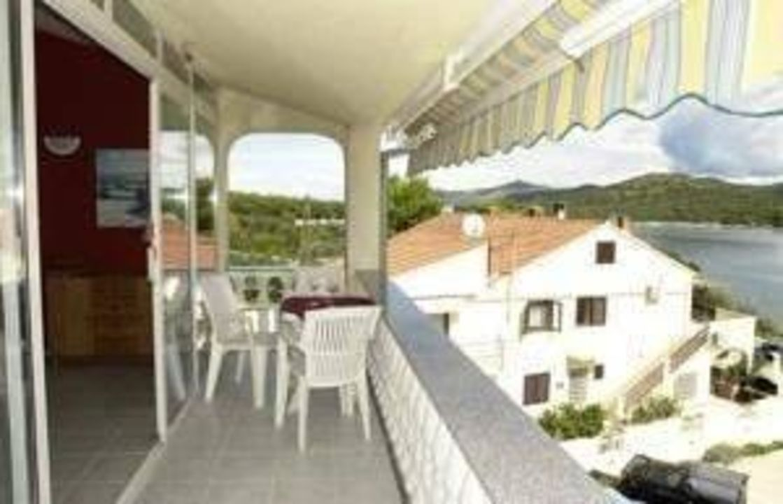 Balkon Ferienwohnung Vivien B Strandhaus Vivien