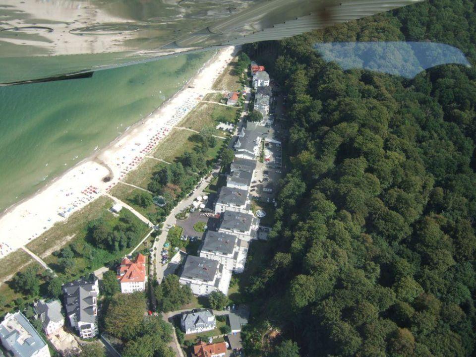 Luftbild Grand Hotel Binz ex Kempinski Bel Air\