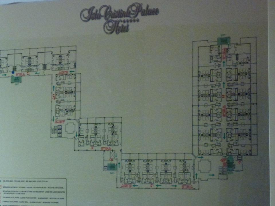 Zimmeraufteilung Sensimar Isla Cristina Palace & Spa