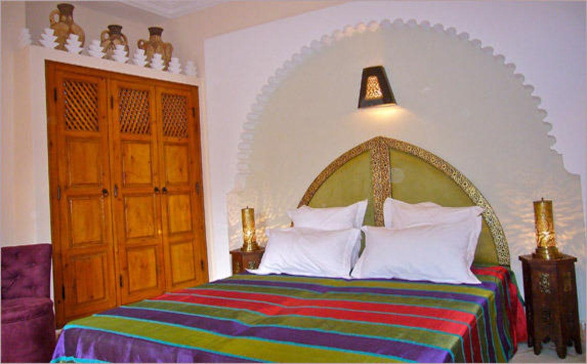 La chambre Amethyste Riad Rabahsadia
