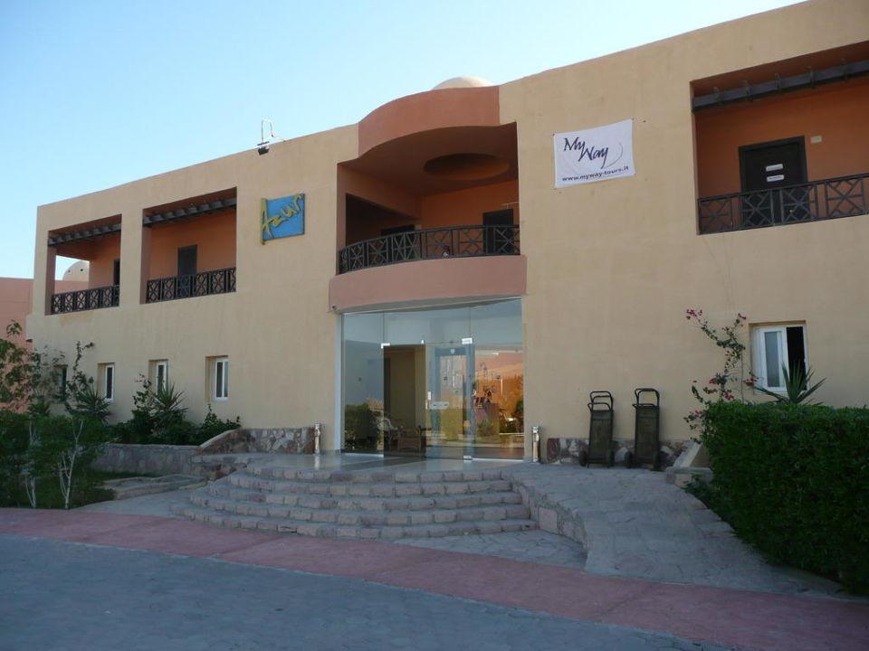 Eingang Empfang Wadi Lahmy Azur Resort