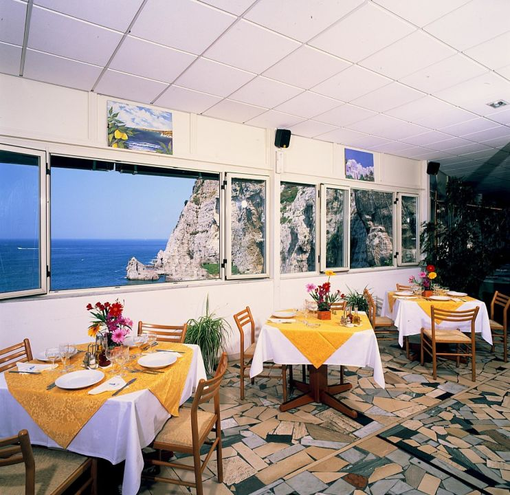 Restaurant Bungalows Bleu Village