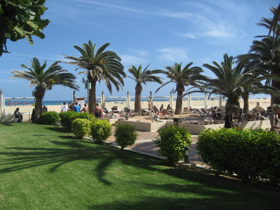 Gartenanlage ausgang zum strand hotel riu oliva beach for Riu oliva beach village