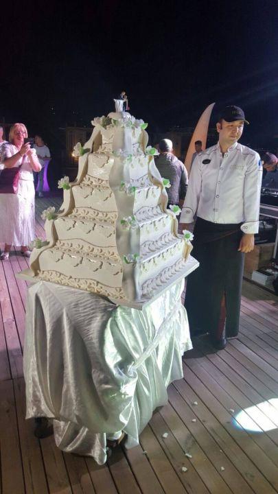 Die Hochzeitstorte Sirius Deluxe Avsallar Holidaycheck