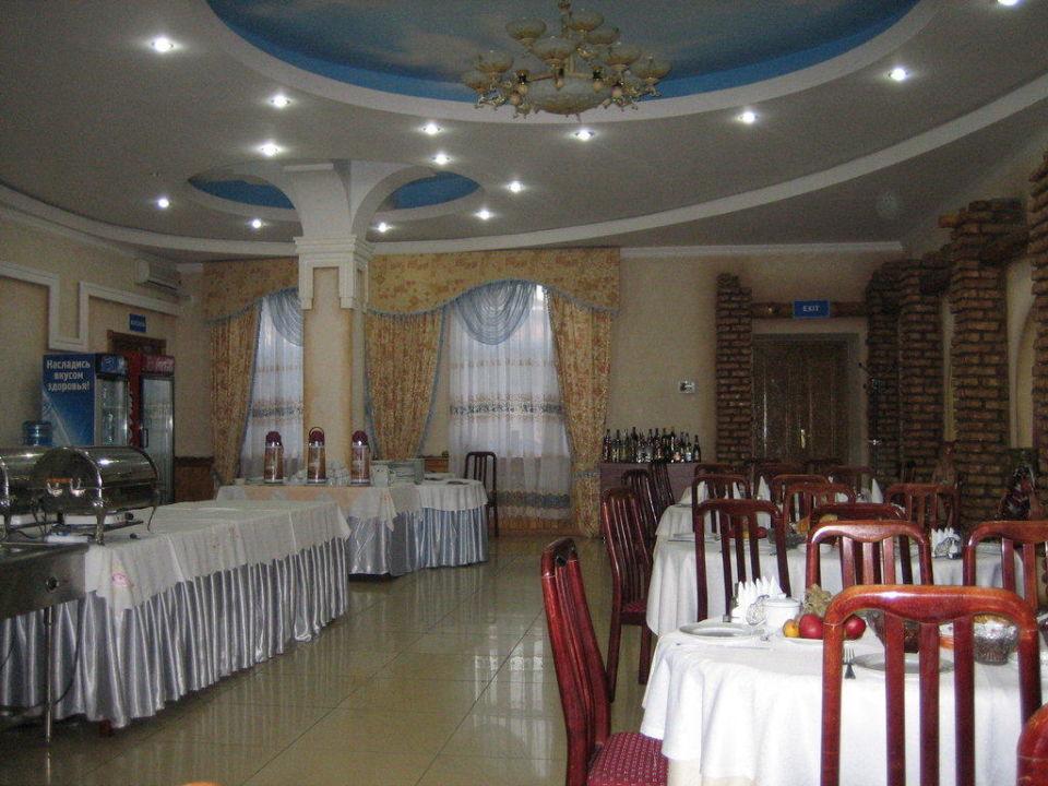 Das Hotelrestaurant Hotel Asia Chiwa