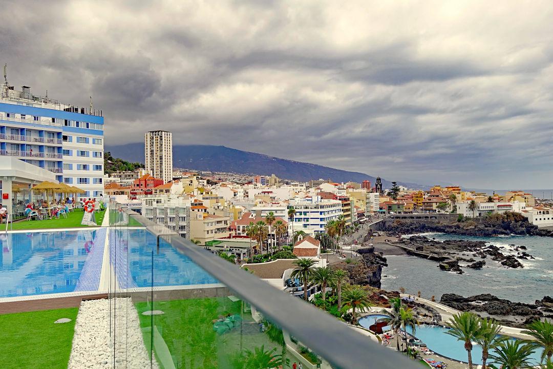 Aussicht auf puerto de la cruz hotel vallemar puerto de - Hotel vallemar puerto de la cruz ...